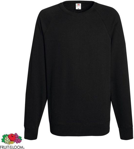ea497c66d97 bol.com | Fruit of the Loom sweater ronde hals maat XL heren (zwart)