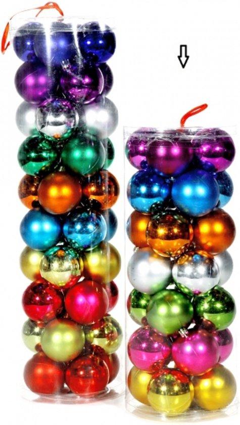 Bol Com Gekleurde Kerstballen 6 Cm 28 Stuks