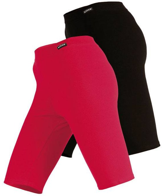 Korte Sportlegging.Bol Com Dames Legging Kort In Rood Of Zwart