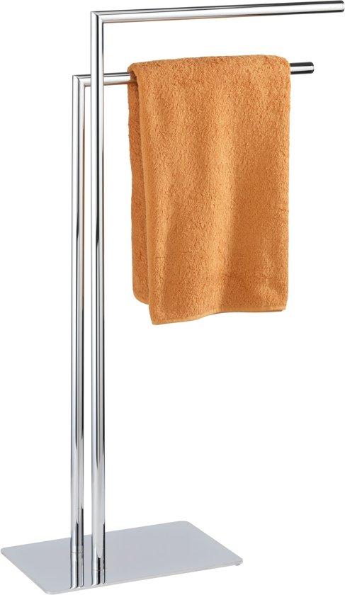 WENKO Handdoekstandaard Recco met 2 armen, kledingstandaard