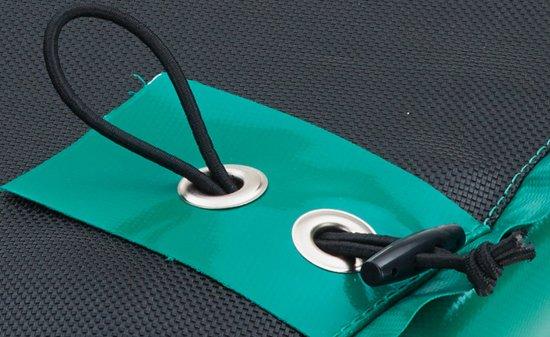 Etan Premium Silver Combi Deluxe Trampoline set Ø427 cm - inc. Deluxe Veiligheidsnet - Groen - Rond