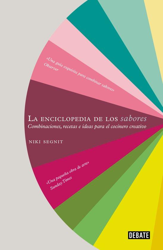 Boek cover La Enciclopedia de Los Sabores / The Flavor Thesaurus van Niki Segnit (Hardcover)