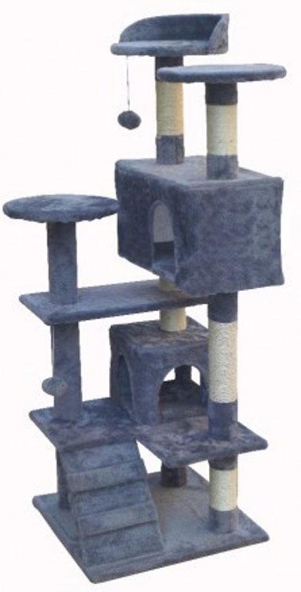 Topmast Krabpaal Mickey Grijs - 50 * 50 * 131 cm