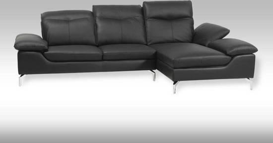 Chaise Longue Leer : Bol solliden esay loungebank leer met chaise longue