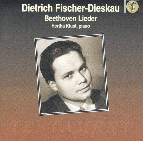 Beethoven: Lieder / Dietrich Fischer-Dieskau, Hertha Klust