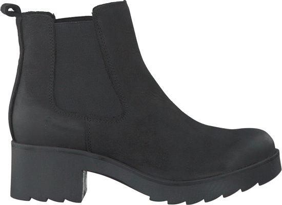 Omoda Dames Chelsea Boots R10476 Zwart Maat 38