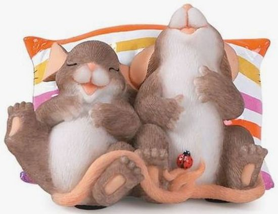 Charming Tails: Happy Together, Hoogte 7.5cm