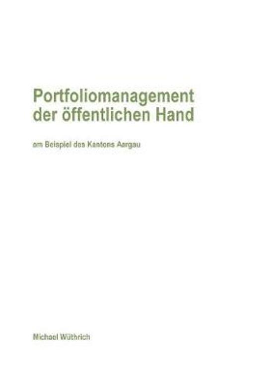 Portfoliomanagement Der ffentlichen Hand