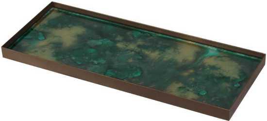 Notre Monde - Malachite Organic Dienblad 46 cm.