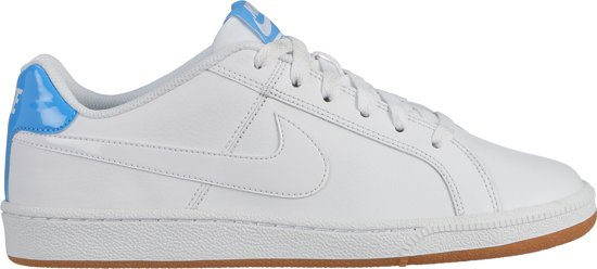 Nike Court Royale Sneakers Dames - White/White-Univ Blue-Gum Lt Brown