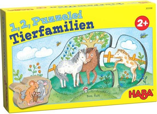 HABA 6 eerste puzzels - Dierenkinderen