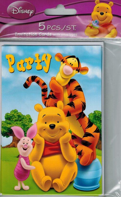 9ec84ab8bf3c Uitnodigingen Winnie de Pooh