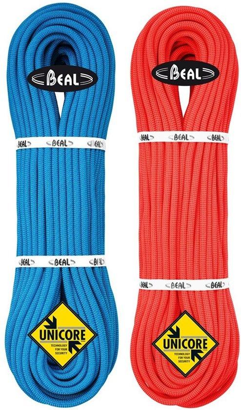 Beal Joker 9.1 Unicore Dry Cover Multinorm Klimtouw 80m Blauw
