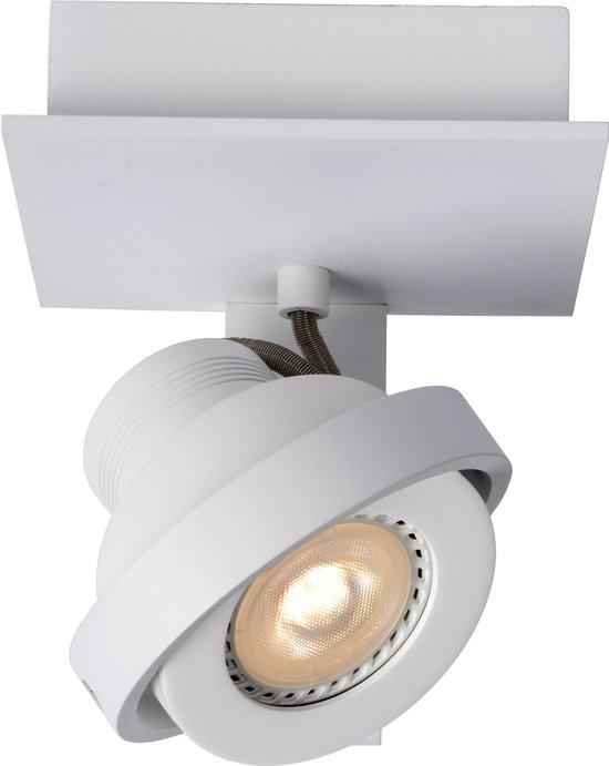 Lucide LANDA - Plafondspot - LED Dimb. - GU10 - 1x5W 3000K - Wit