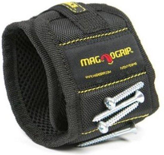 Magnogrip - Magnetische Polsband - Zwart
