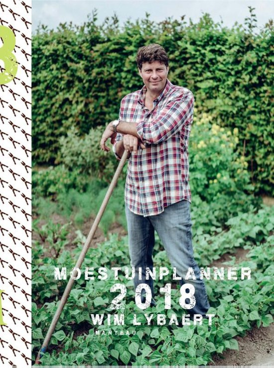 Boek cover Moestuinplanner 2018 2018 van Wim Lybaert (Paperback)
