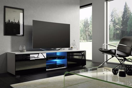 Dichte Tv Kast : Bol.com tv meubel tv kast tenus incl led body wit front