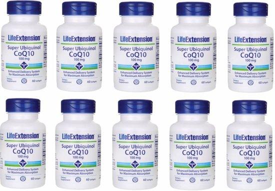 Super Ubiquinol Coq10, 100 Mg, 60 Softgels, 10-pack