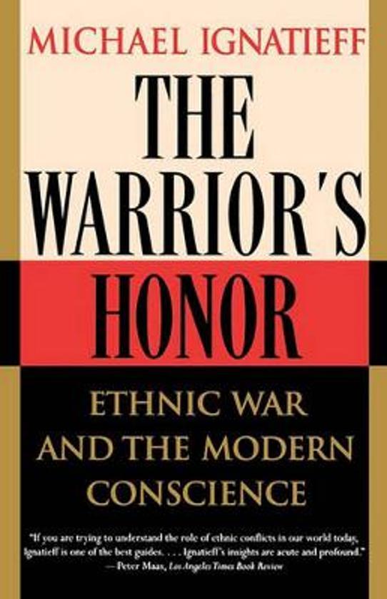 Boek cover The Warriors Honor van Michael Ignatieff (Paperback)