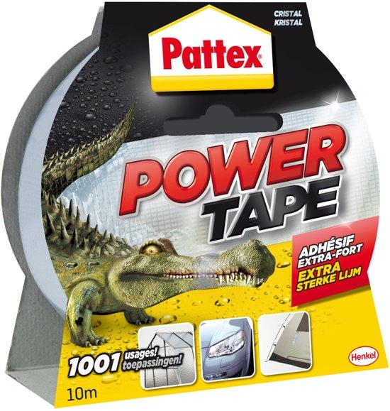 Pattex Power Tape - Waterbestendig - 10 Meter - Transparant