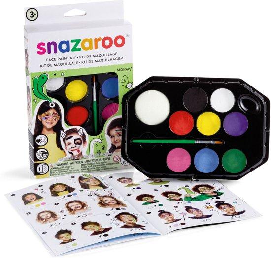 Snazaroo Schmink set Unisex met 20 voorbeelden