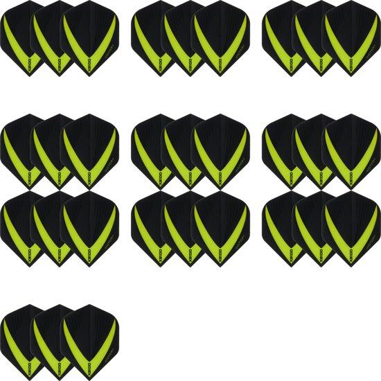 10 sets (30 stuks) Super Sterke – Groene - Vista-X – darts flights – Dragon darts