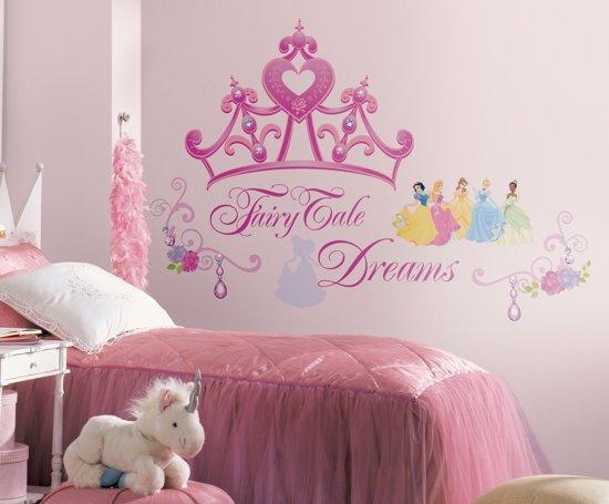 bol.com   RoomMates Disney Prinsessen Crown - Muurstickers - Multi