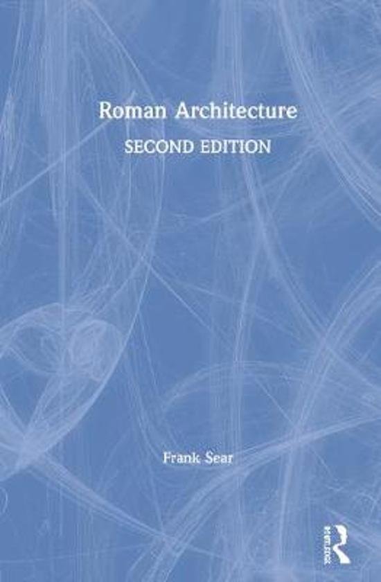 Boek cover Roman Architecture van Frank Sear (Hardcover)