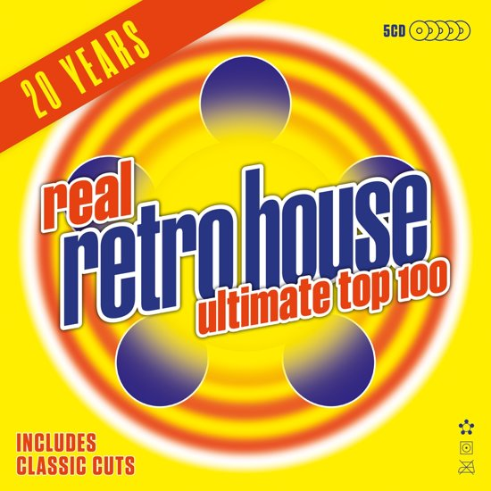 Real Retro House Ultimate 100 (5Cd)