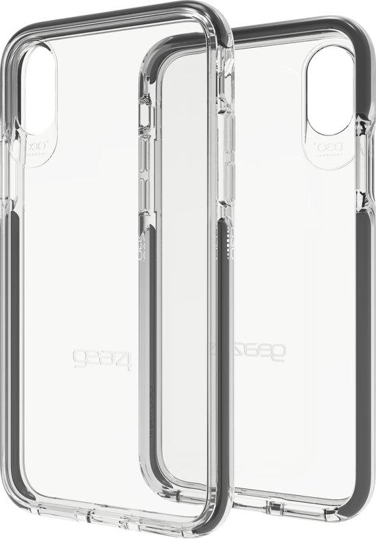 GEAR4 D3O Piccadilly telefoonhoesje voor de Apple iPhone X/Xs (Zwart)