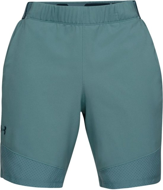 Under Armour Vanish Woven Short Sportbroek Heren - Dust - Maat L