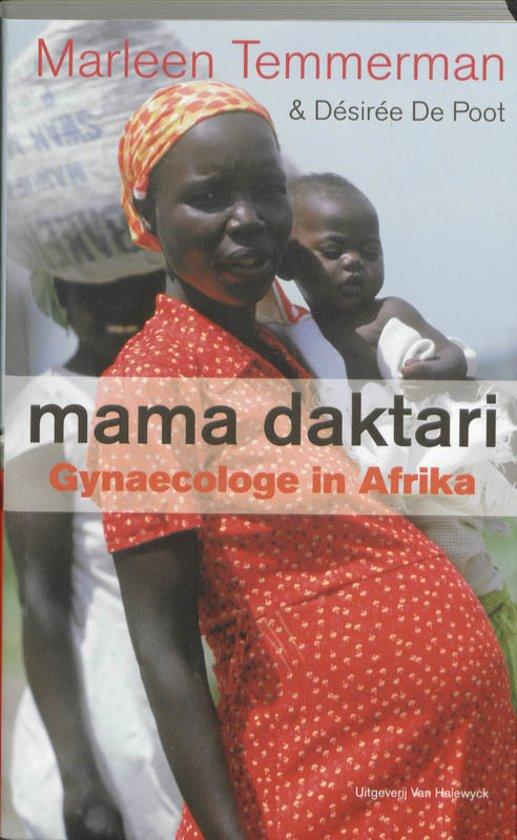 Cover van het boek 'Mama Daktari' van M. Temmerman