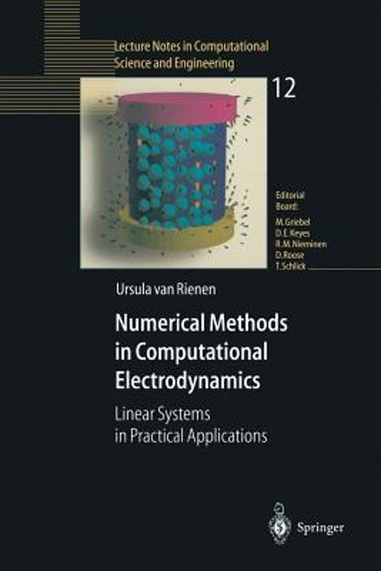 Numerical Methods in Computational Electrodynamics