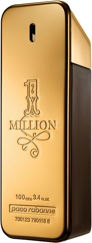 Paco Rabanne 1 Million - 100 ml - Eau de toilette - for Men