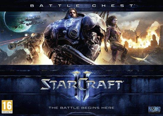 Starcraft II Battlechest (Starcraft II: Wings of Liberty + Starcraft II: Heart of the Swarm + Strategy Guide) - Windows