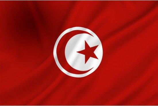 Dokkumer Vlaggen Centrale - Tunesische vlag - 100 x 150 cm