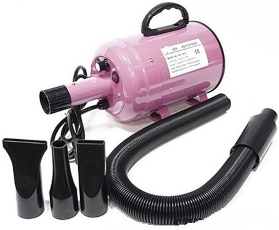 Topmast Waterblazer Dierenborstel Hondenfohn - 2800 Watt - Professionele en krachtige blazer.