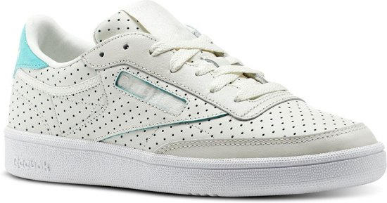 50b87222fe4 bol.com | Reebok Sneakers Club C 85 Popped Dames Wit Maat 40