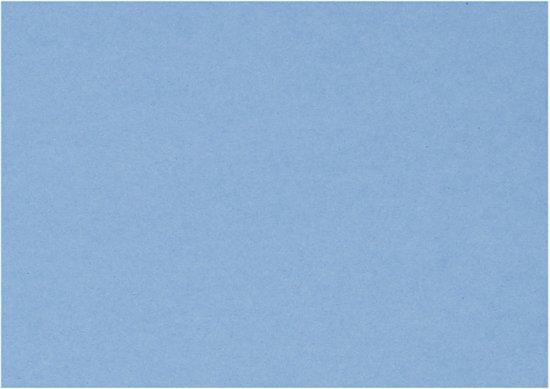 Decoratie Karton, vel 460x640 mm,  210-220 gr, helder blauw, 25vellen