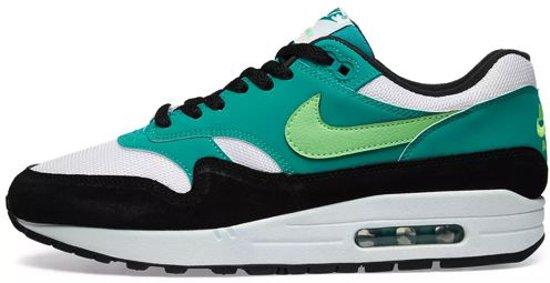 367cd4d2f79 Nike Air Max 1 - Sneakers - Groen/Wit/Zwart - Maat 40