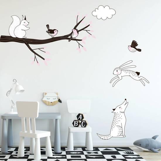 Stickers Voor Kinderkamer.Bol Com Decoratie Stickers Muur Wand Voor Slaapkamer