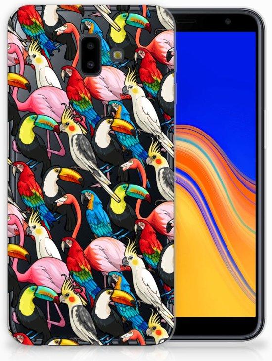 Samsung Galaxy J6 Plus (2018) Uniek TPU Hoesje Birds