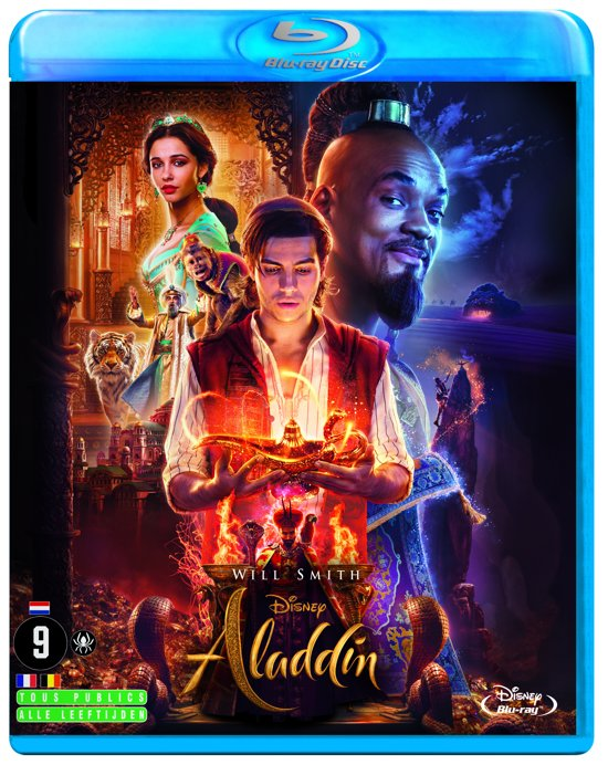 DVD cover van Aladdin (Blu-ray)