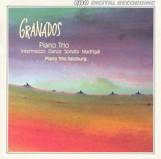 Granados: Piano Trio, Intermezzo, etc / Piano Trio Salzburg