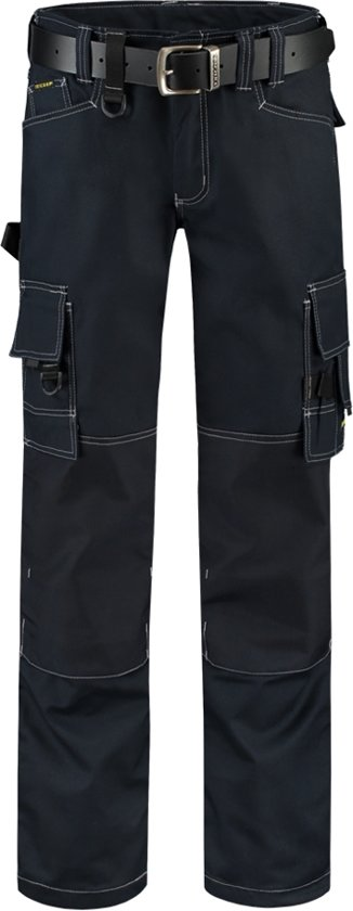 Tricorp worker canvas met cordura - Workwear - 502009 - navy - maat 52