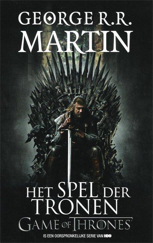Boek cover Game of Thrones 1 - Het spel der tronen van George R.R. Martin (Paperback)