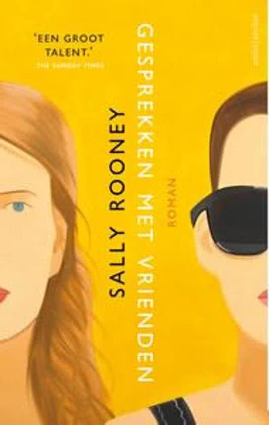 Boek cover Gesprekken met vrienden van Sally Rooney (Onbekend)