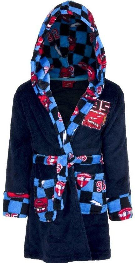 0317dedc006 bol.com | Blauwe Cars badjas met capuchon voor jongens 116 (6 jaar)