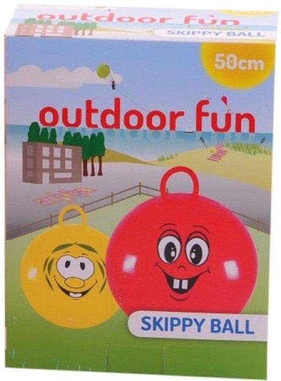 Gele Skippybal outdoor fun Ø 50 cm