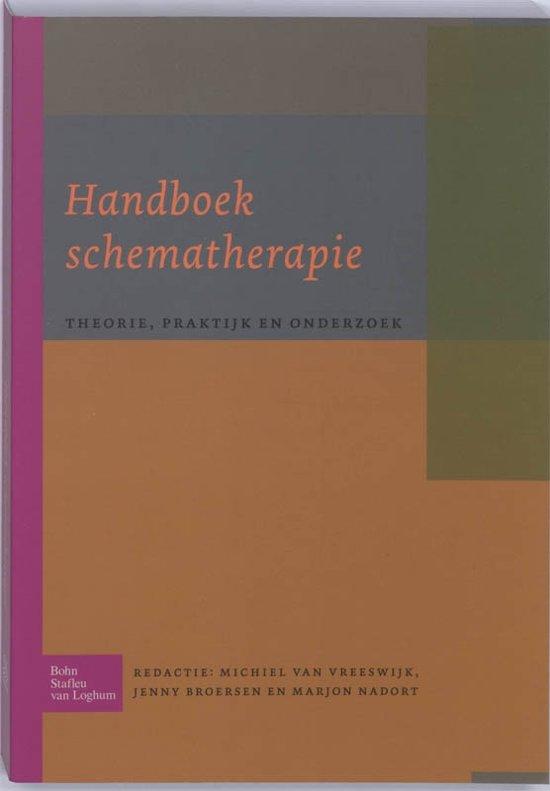 Boek cover Handboek schematherapie van M Vreeswijk (Paperback)